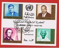 Sharjah  #361a VF used   Honoring Liberty Martyrs  Free S/H