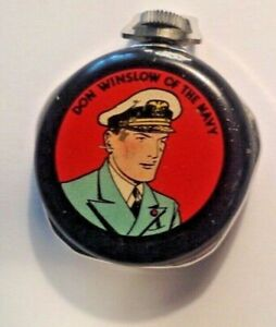 Don-Winslow-of-the-Navy-Pocket-Watch-RARE-Only-one-known-in-existence-c-1939