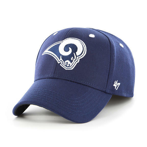 new concept f2f99 a6302 Kickoff 47 BRAND Contender Los Angeles Rams Fitted Hat for sale online    eBay