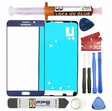 Blue Front Outer Lens Screen Glass Replacement for Samsung Galaxy Note 5 N920