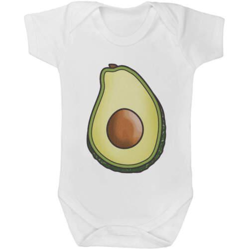 GR022835 Bodysuits /'Avocado Half/' Baby Grows