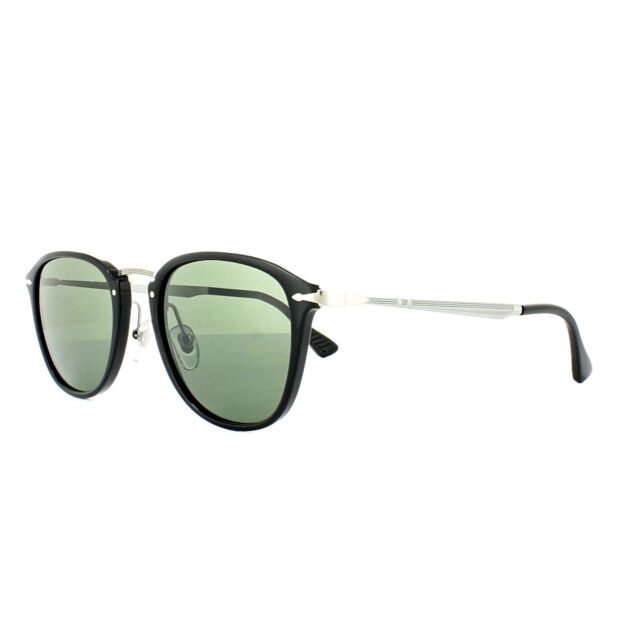 b9a5a07379 Persol Sunglasses Po3165s 95 31 52mm Black Wire Italy 3165 ...