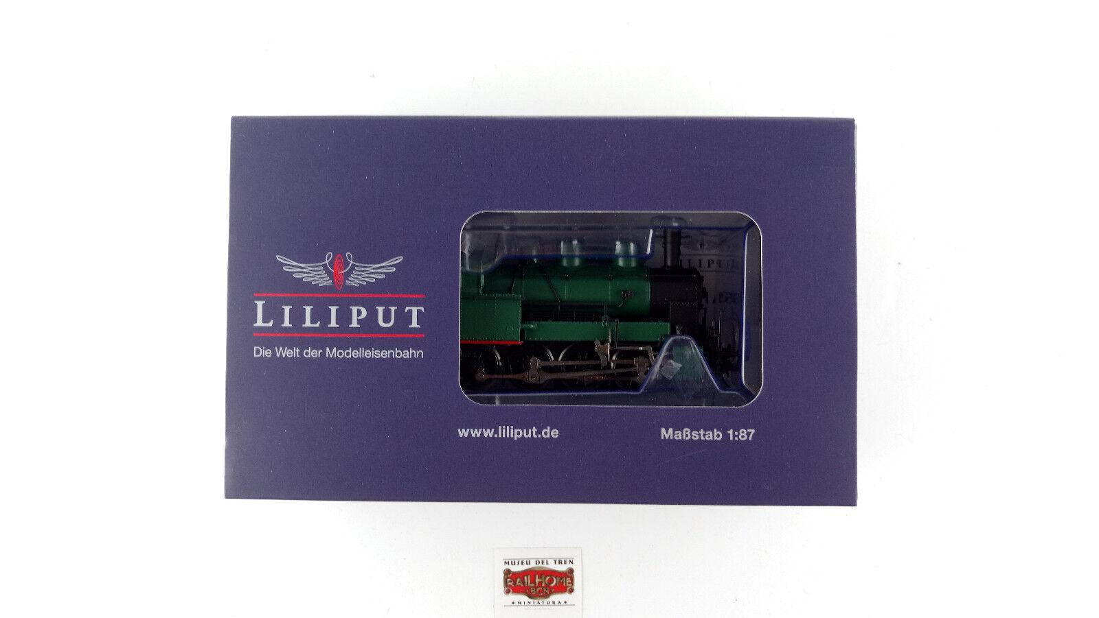LILIPUT H0 131351 - TENDERLOKOMOTIVE BR 91 SNCB MMBS - EP. II - NEW