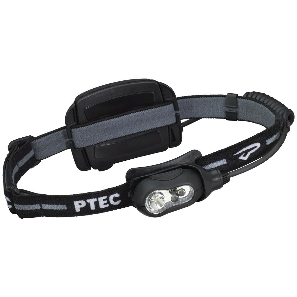 Princeton Tec Remix Wiederaufladbare Stirnlampen Weißlicht LED Schwarz Fall