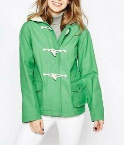 Duffle Gloverall Green 10 38 Casual Winter S jasje Uk Showerproof qZ1Zrf
