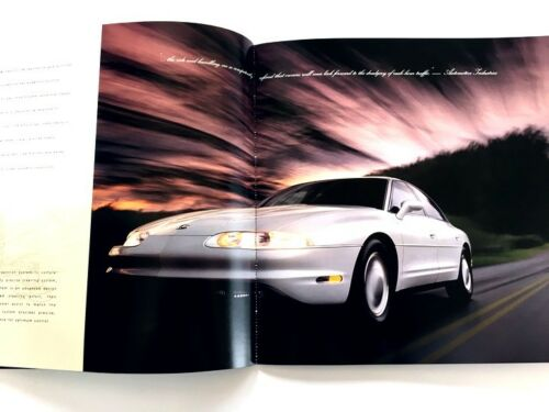 1996 Oldsmobile Aurora 52-page Original BIG Car Sales Brochure Catalog