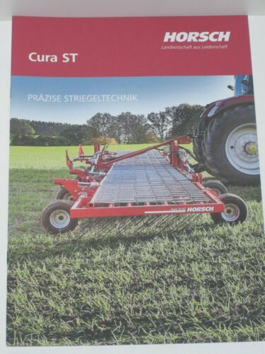 Horsch cura St striegeltechnik peinado folleto de 11//2019 9462