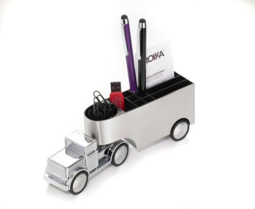 Troika Stifteköcher Schreibtischobjekt Office Trucker LKW Büroklammern Gam06  20