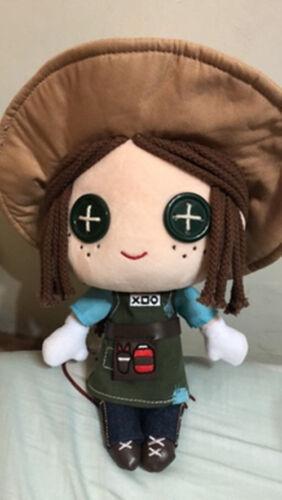 Identité V Survivor jardinier Emma Cosplay Plush Toy Doll Changement Costume Skin Game