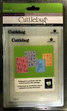 Cuttlebug ProvoCraft 5x7 embossing folders storage holds 16 2p//8s
