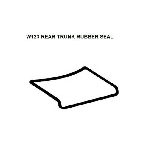 Mercedes Benz W123 Rear Trunk Lid Seal Rubber Gaskets 200 220 230 220D 240D