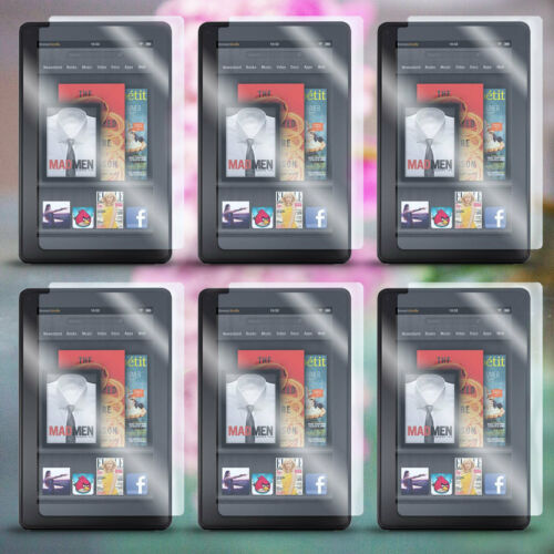 "Lot 6 AntiGlare Screen Protector LCD Film Guard for Amazon Kindle Fire 7/"" Tablet"