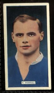 Tobacco-Card-Carreras-POPULAR-FOOTBALLERS-1936-F-Worrall-Portsmouth-37