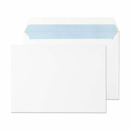 C5 Peel /& Seal Plain White Courrier Enveloppes 162 x 229 mm-Boîte de 1000-100gsm