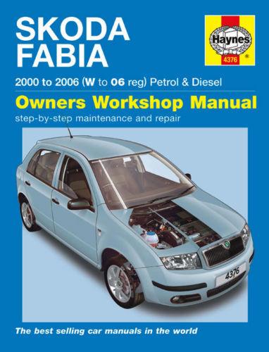 Manuale Haynes 4376 SKODA FABIA 1.2 12V 6V 1.4 16V classico comfort 2000-2006
