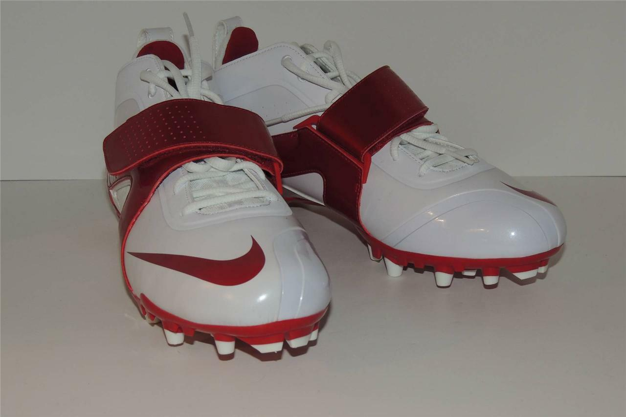 Nike Air Huarache 3 Men's Lacrosse Cleats Style 469730 160 Red/White New!! Seasonal price cuts, discount benefits