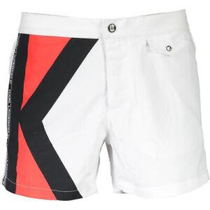 Costume Karl Lagerfeld Boxer Lungo Boardshort mare uomo Nero K19MBS03