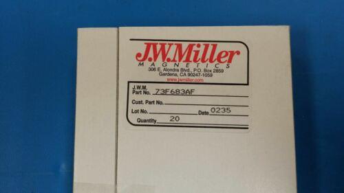 10 PCS Obsolete 73F683AF JW MILLER Fixed Inductors 6800uH 5/%