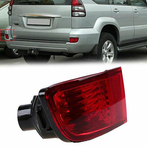 ABS Rear Tail Bumper Fog Light Housing for Toyota Land Cruiser Prado J120 02-09