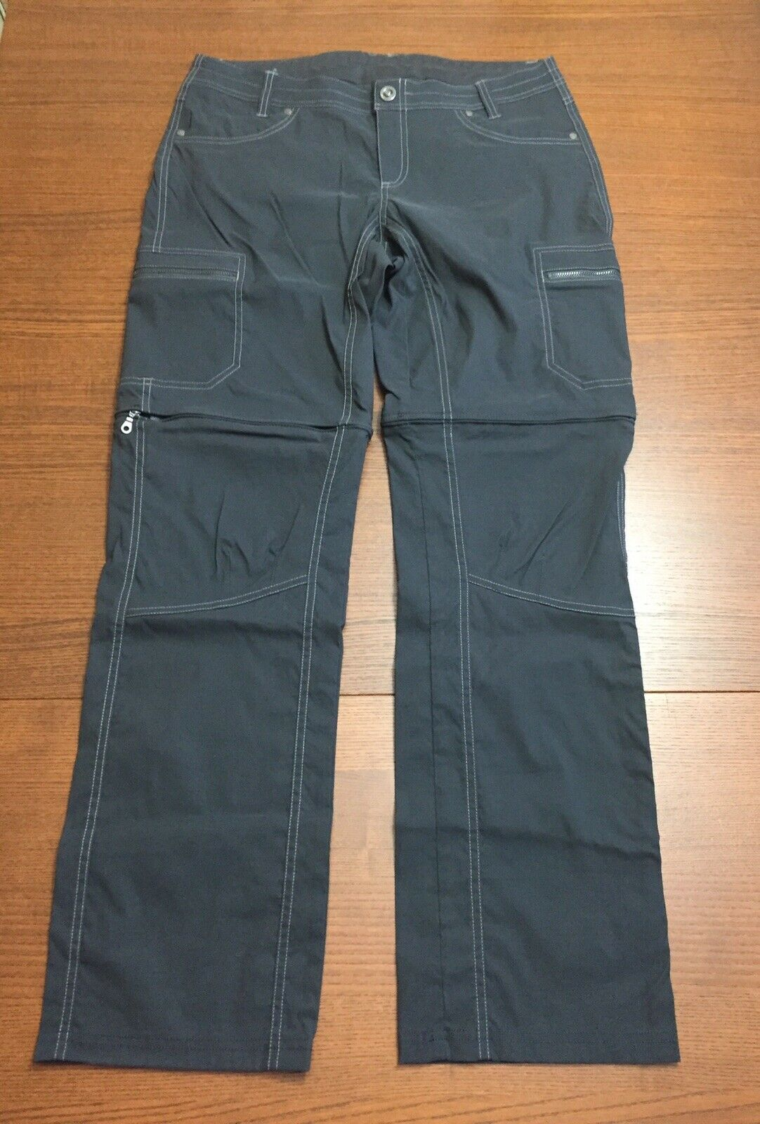 Women's Size 10  Kuhl Cliffside Congreenible Cargo Pants Drawstring Waist EUC   ️  come to choose your own sports style