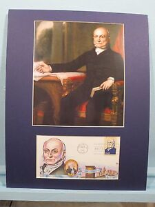 President-John-Quincy-Adams-honored-by-First-day-Cover