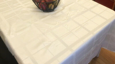 Assorted Sizes Polyester Printed Fabric Tablecloths Floral Multi-Color New