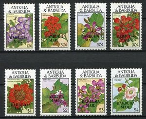 Details about  28395) BARBUDA 1988 MNH** Nuovi** Flowers Fiori 8v