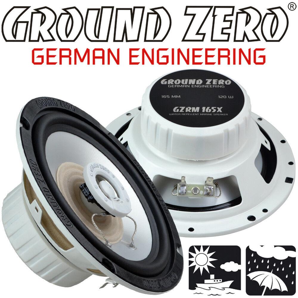 Ground Zero GZRM 165X 16 5cm Marine Lautsprecher - Spritz & Salzwasser resistent