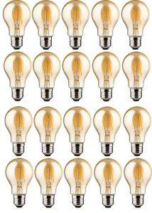 20er-trendlights-DEL-DEL-Lampe-a60-4w-40w-470-lm-e27-2700k-Ampoule-Gold-EEK-Bon-etat