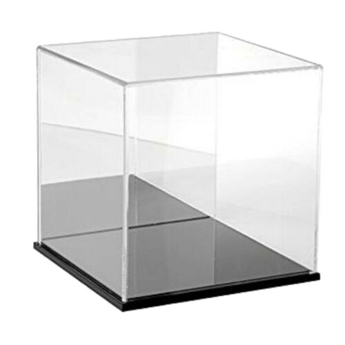 Clear Display Case Diecast Cars Action Figure Toys Dustproof Cube Case Boxes