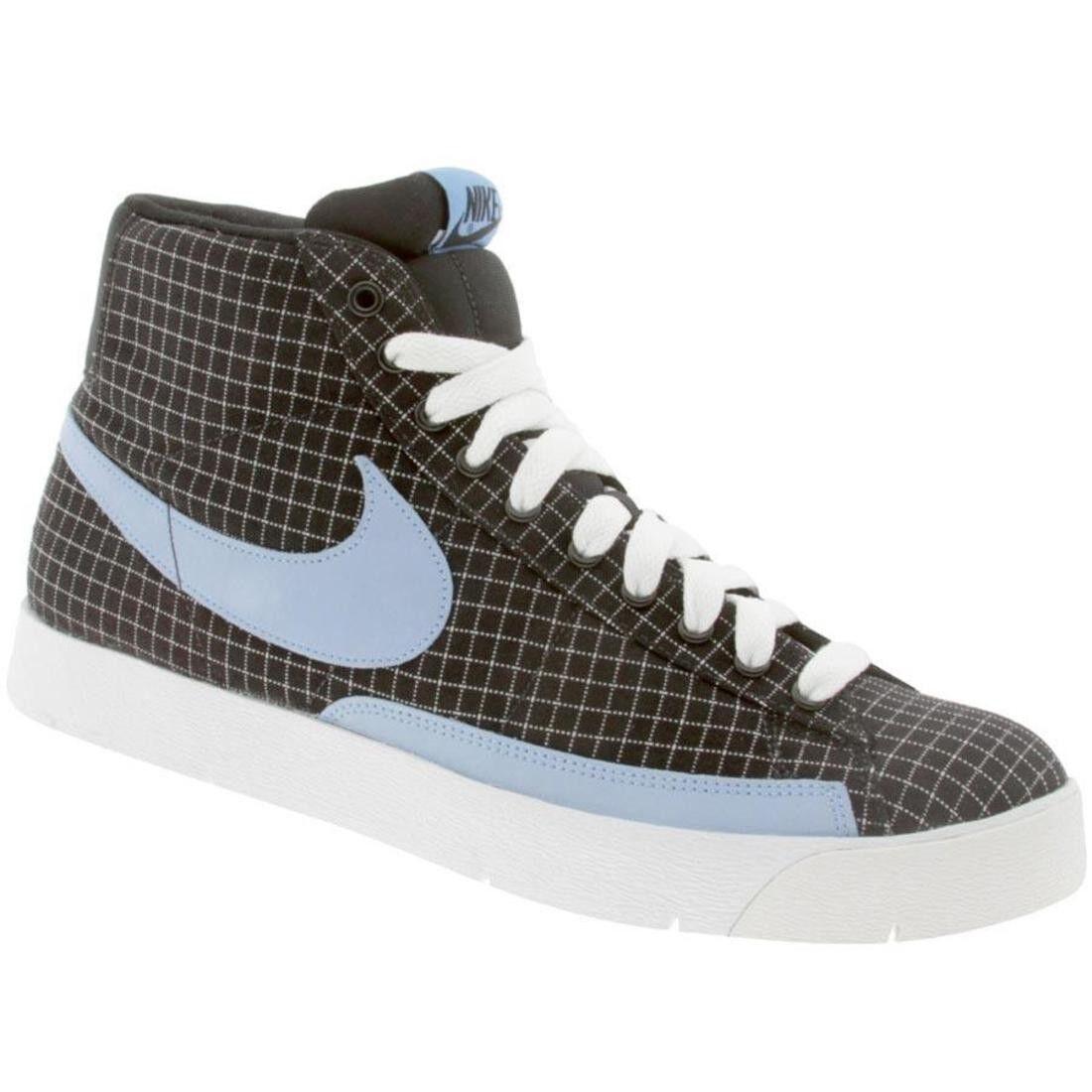 316382-041 Nike Super Blazer High Premium Noir University Bleu Blanc
