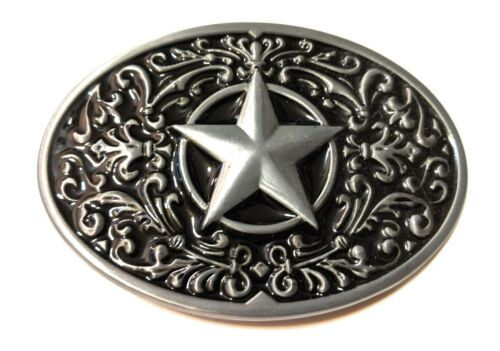 ♈  Star Belt Buckle Nice buckle for every day use Great gift old Western cowboy
