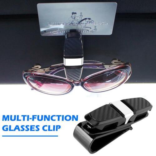 Universal Car Vehicle Sun Visor Sunglasses Eyeglasses Glasses Holder Ticket Clip