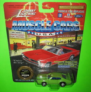 JOHNNY LIGHTNING MUSCLE CARS U.S.A 1969 OLDS 442 PLAYING MANTIS