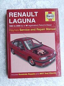 renault laguna 1994 2000 petrol diesel haynes service repair rh ebay co uk Renault Laguna 2006 Renault Laguna 2006