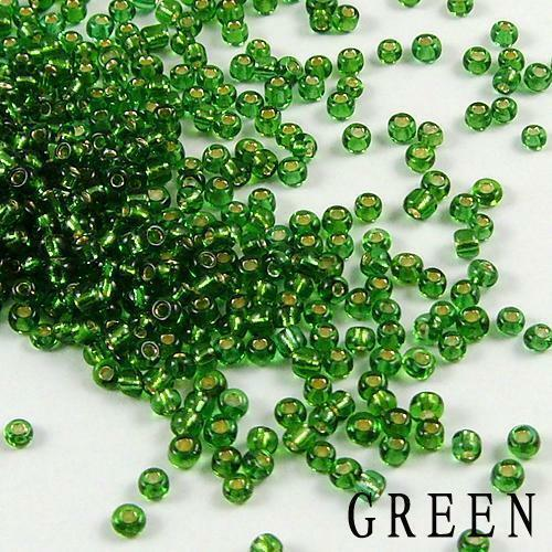 1000x 2 mm Czech glass seed Spacer Beads Jewelry Making À faire soi-même 12 Couleur Libre p/&p