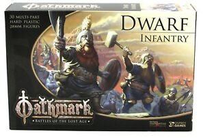 Oathmark-OAKP101-Dwarf-Infantry-30-Plastic-Figures-Dwarven-Warriors-North-Star