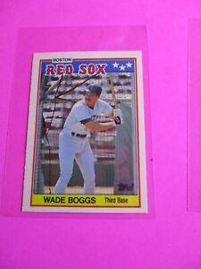 1988-Topps-TIFFANY-UK-American-Baseball-Mini-MINT-Wade-Boggs-4-Rare