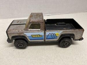 Mini-Tonka-Silver-Pick-Up-Truck