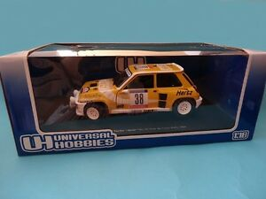 RENAULT-5-TURBO-BARTOLI-RALLY-TOUR-CORSE-1984-1-18-NEW-UNIVERSAL-HOBBIES-UH4554