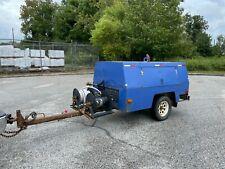Sullivan Palatek 210 Cfm Tow Behind Air Compressor John Deere Diesel Only 228hr