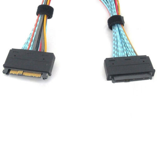 SFF-8639 68 Pin U.2 Cable Extension Cable 1.5 Meter