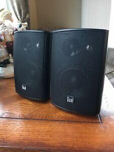 Dual-Electronics-LU43PB-3-Way-Indoor-Outdoor-Speakers-Black
