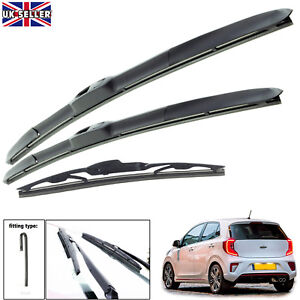 Quality rear flat wiper blade 11 280mm exact fit 11O