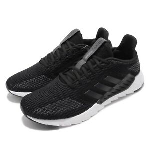 54a75e5b4 adidas Asweego CC Black Grey White Men Running Casual Shoes Sneakers ...