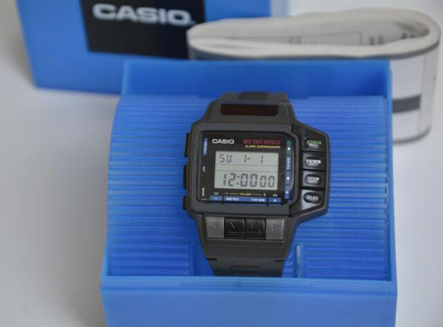 RARE CASIO CMD 10 TV REMOTE CONTROL DIGITAL WATCH VINTAGE