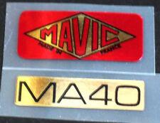 Mavic MA40 wheel decals set of 2 (for 1 wheel)