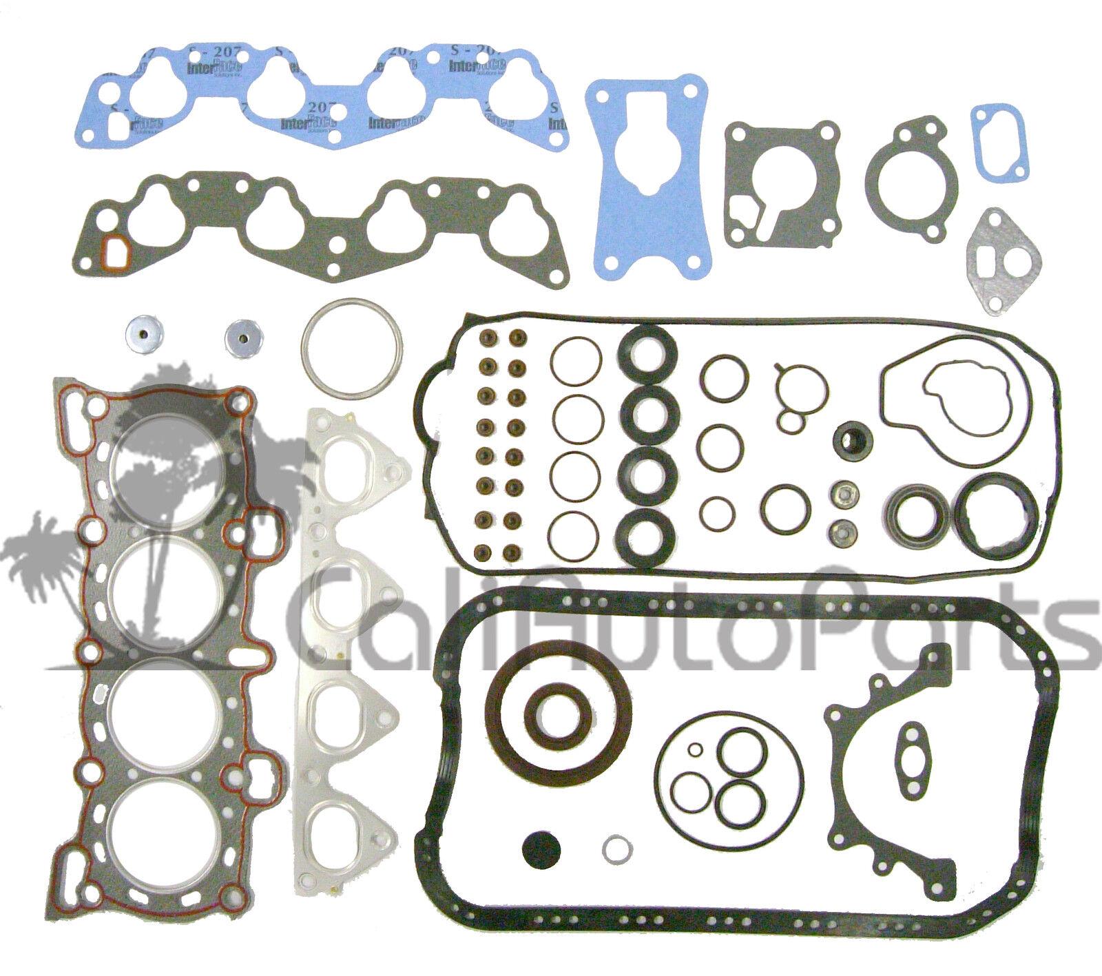 88-95 Honda Civic 1.5L 16V SOHC D15B1 D15B7 D15B8 Master Engine Rebuild Kit [152664338531] - $43 ...