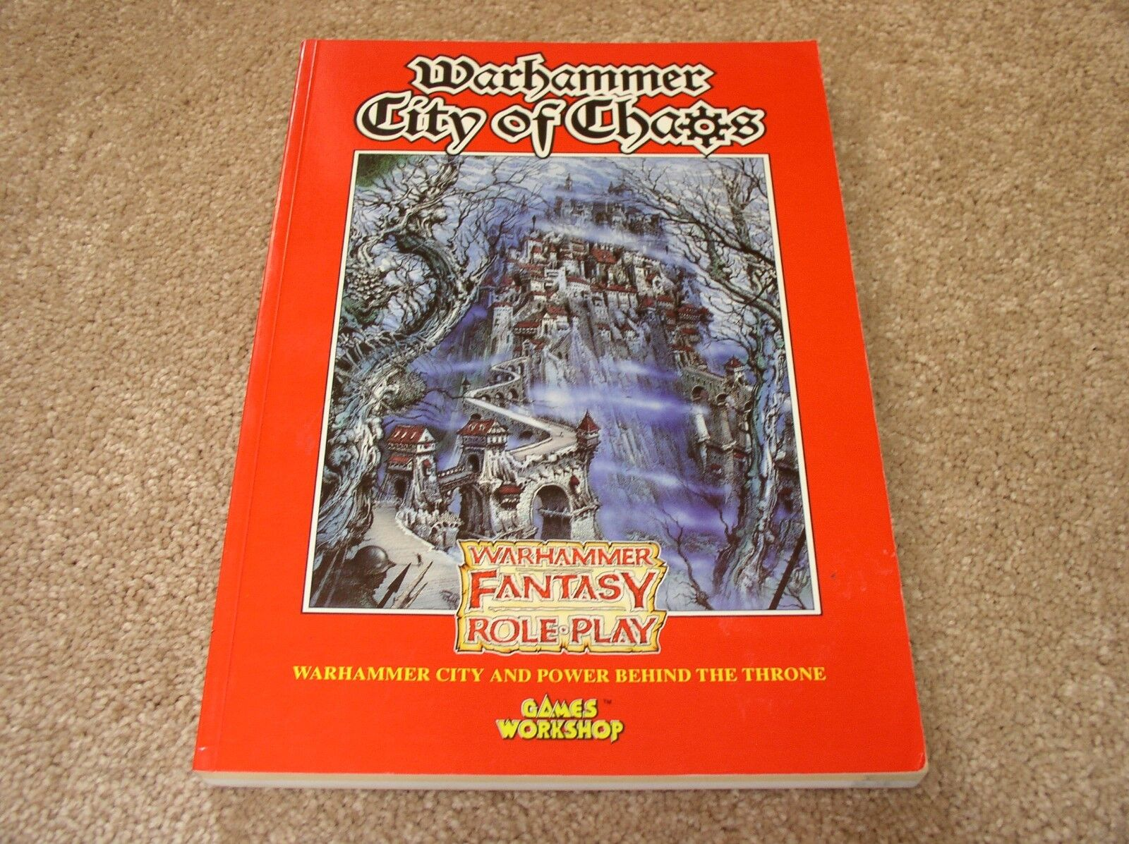 Games Workshop Warhammer City of Chaos softcover