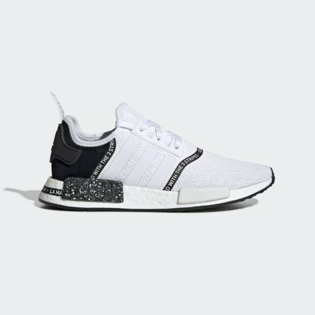 5fe9f55497d4c Adidas Nmd R1 Boost Speckle Pack White/Black Men's Casual Shoes EF3326  LIMITED